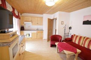 kleines Schlafzimmer Ferienwohnung Silberberg