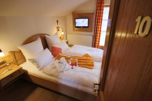 Zimmer 10 mit Morgensonne